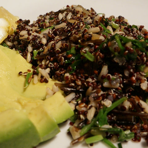 Black Quinoa with Rice and Cumin