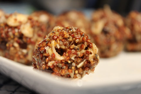 Red Quinoa Power Snacks