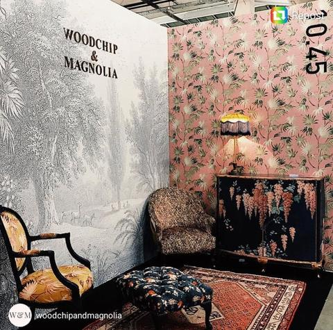 Wallpaper Launch with Woodchip & Magnolia