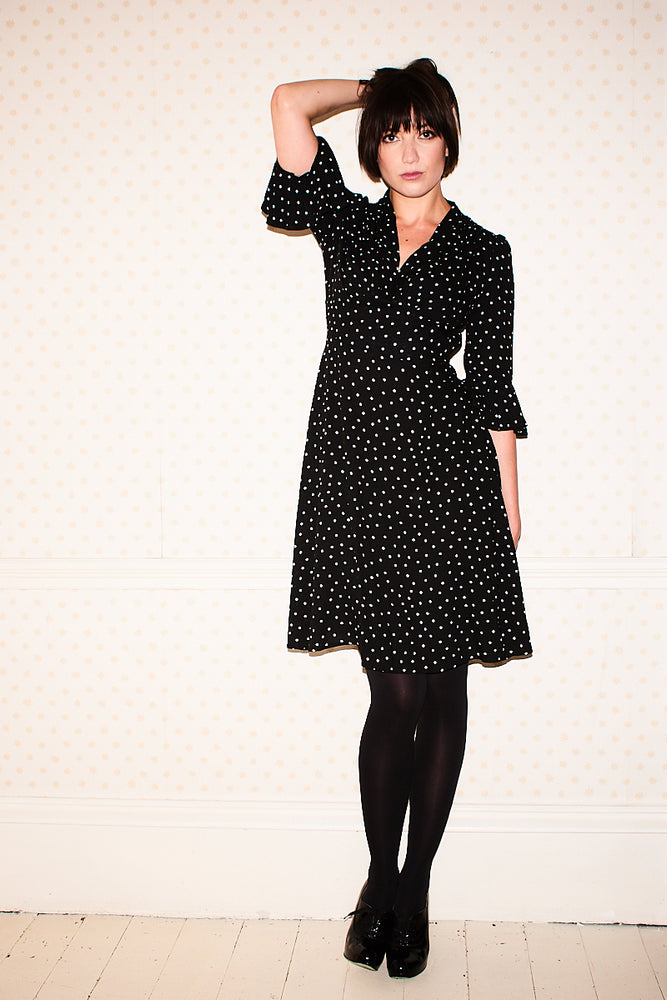 Polka Dot Joan Dress