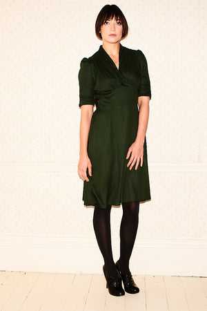 Marylin Green Pearl Lowe Dress