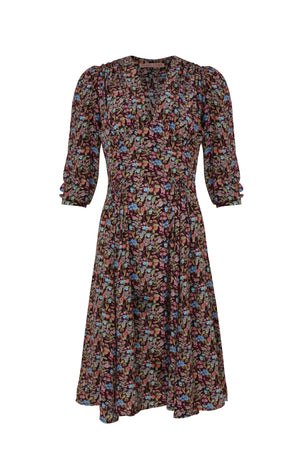 Pearl Lowe Liberty Print Silk Dress