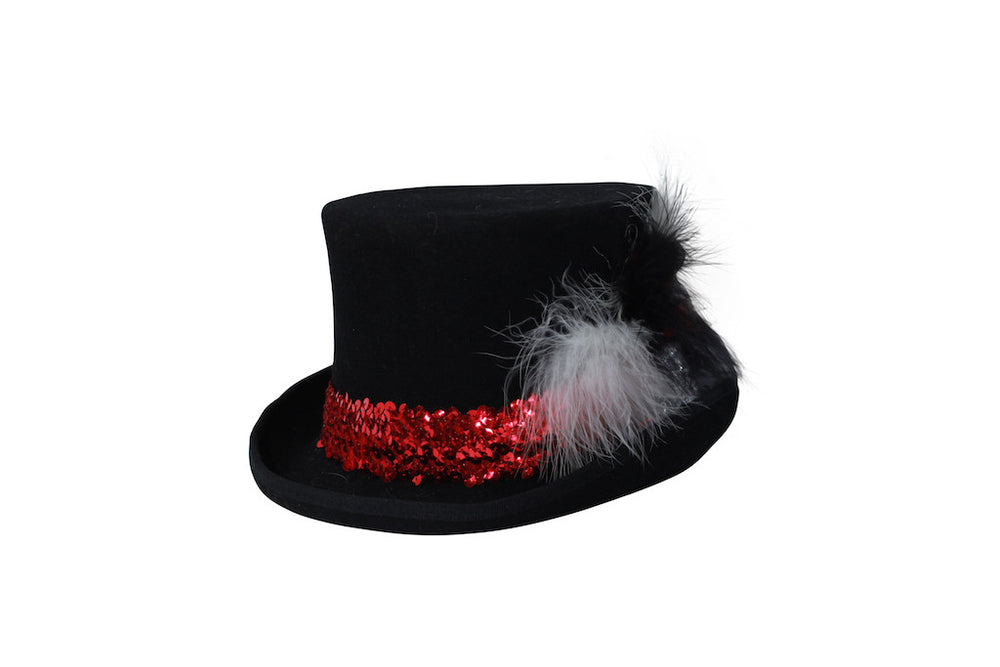 Black Felt Top Hat - SOLD OUT