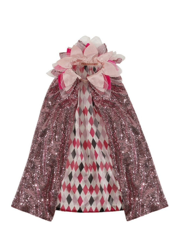 Pink Regal Cape - SOLD OUT