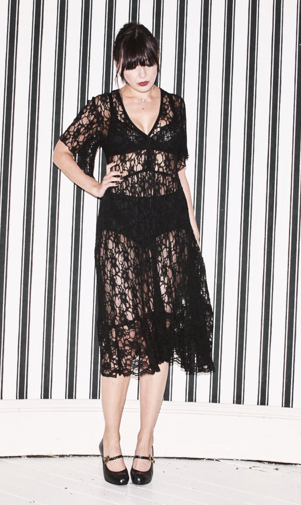 Cherry Black Pearl Lowe dress