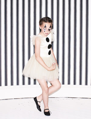 Cream Pierrot Dress - SOLD OUT