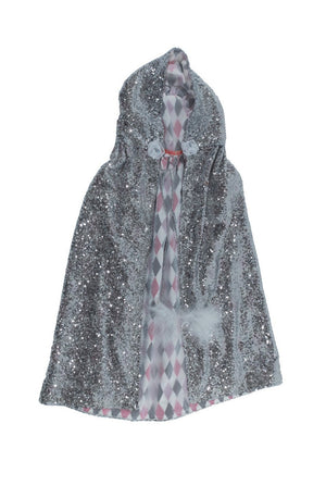 Silver Sequin Cape - SOLD OUT