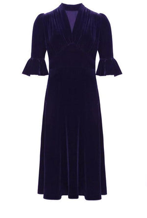 Pearl Lowe Velvet Dress