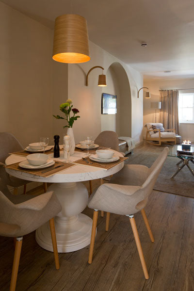 Linnet. Cotswold Grey's two bedroom luxury apartment.