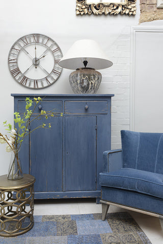 "Seaside sideboard, from Cotswold Life ""True Blue"" advert"