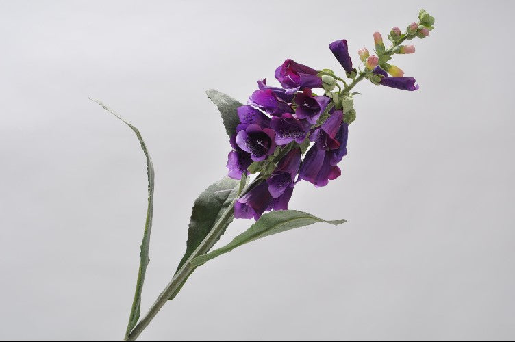 Load image into Gallery viewer, Purple Digitalis Stem 70cm