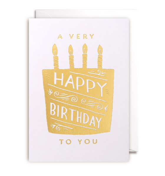 Steph Baxter - Happy Birthday Card