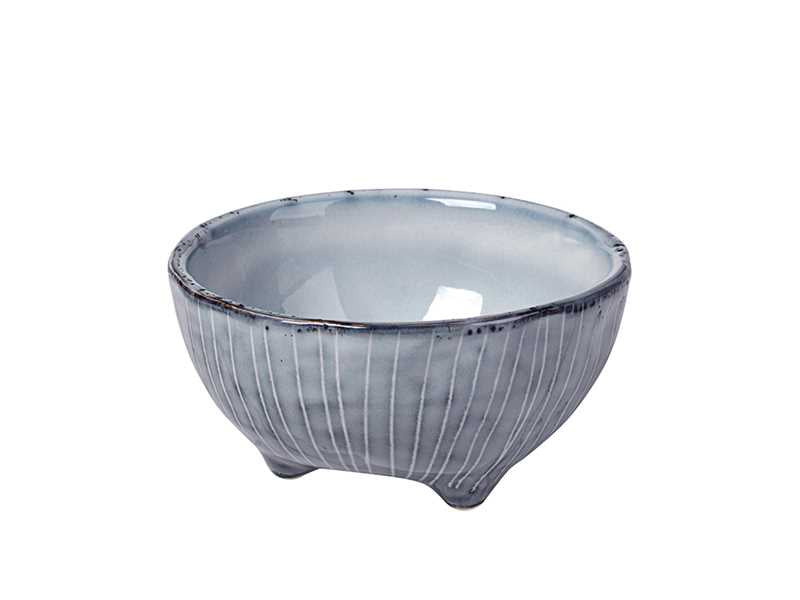Broste Nordic Sea Footed Bowl - Large