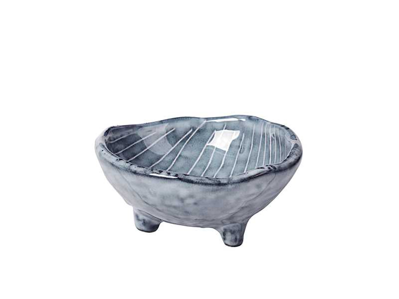 Broste Nordic Sea Footed Bowl - Small