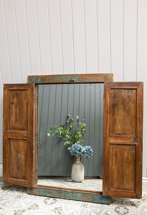 Wooden Window Mirror No 2