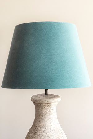 Load image into Gallery viewer, Empire Shade 24/35cm - Lagoon Green Velvet