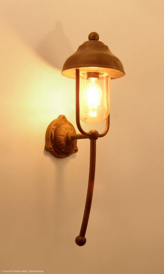 Bogera Outdoor Wall Lamp Copper