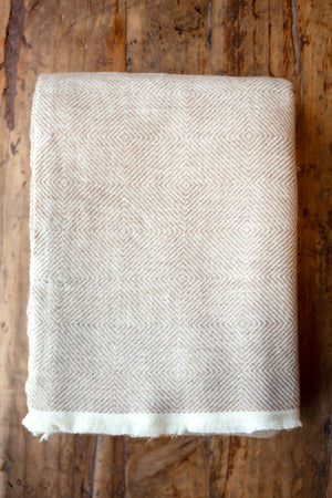 Cashmere Throw - Brown