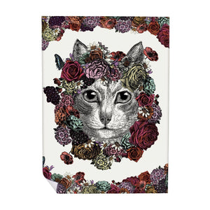 Chase & Wonder Flower Cat Wrapping Paper