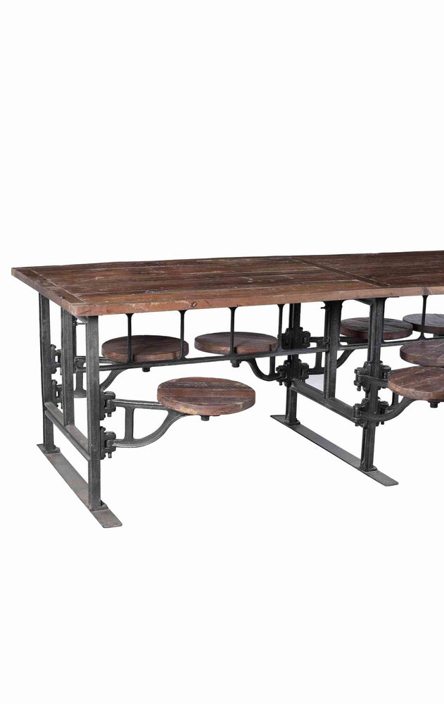 Swing Seat Dining Table - 8 Seater