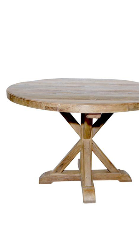 Four-leg Round Table