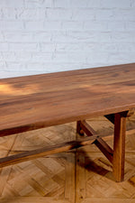 Extra Long Wooden Dining Table - 405cm