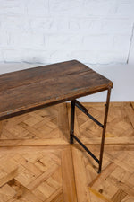 Wood and Iron Console Table - 180cm