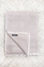 Cashmere Throw - Hazel