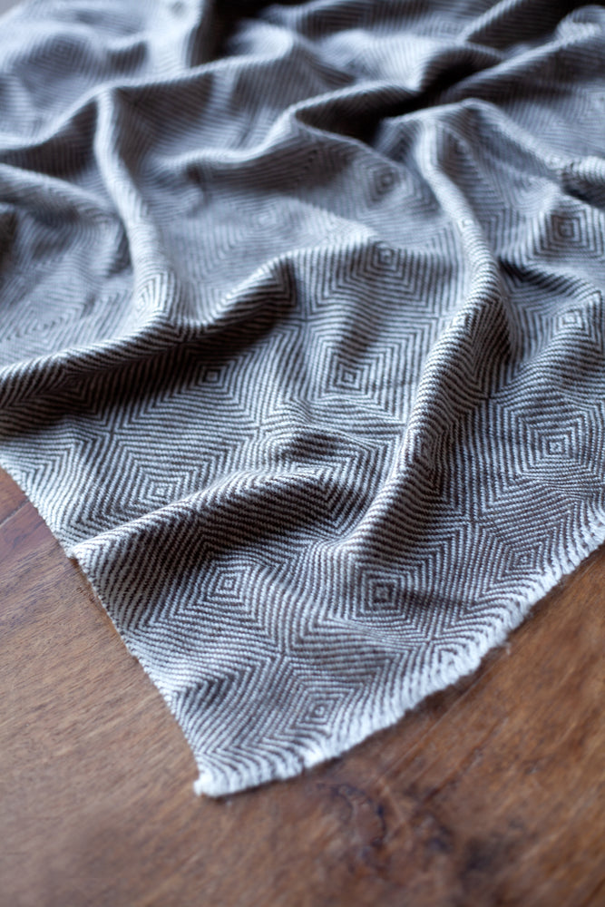 Cashmere Throw - Chocolate Brown
