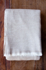 Cashmere Throw - Toffee