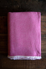 Cashmere Throw - Hot Pink