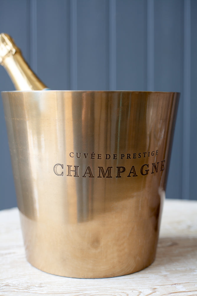 Load image into Gallery viewer, Chenay Champagne Bucket - Brass