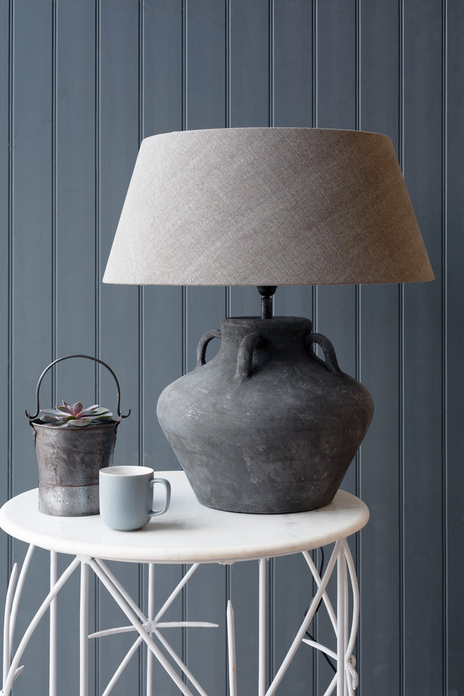Connato Jug Lamp Grey