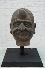 Buddha Head with Stand
