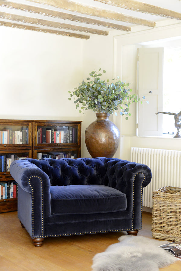 The Mayfair Chair - Navy