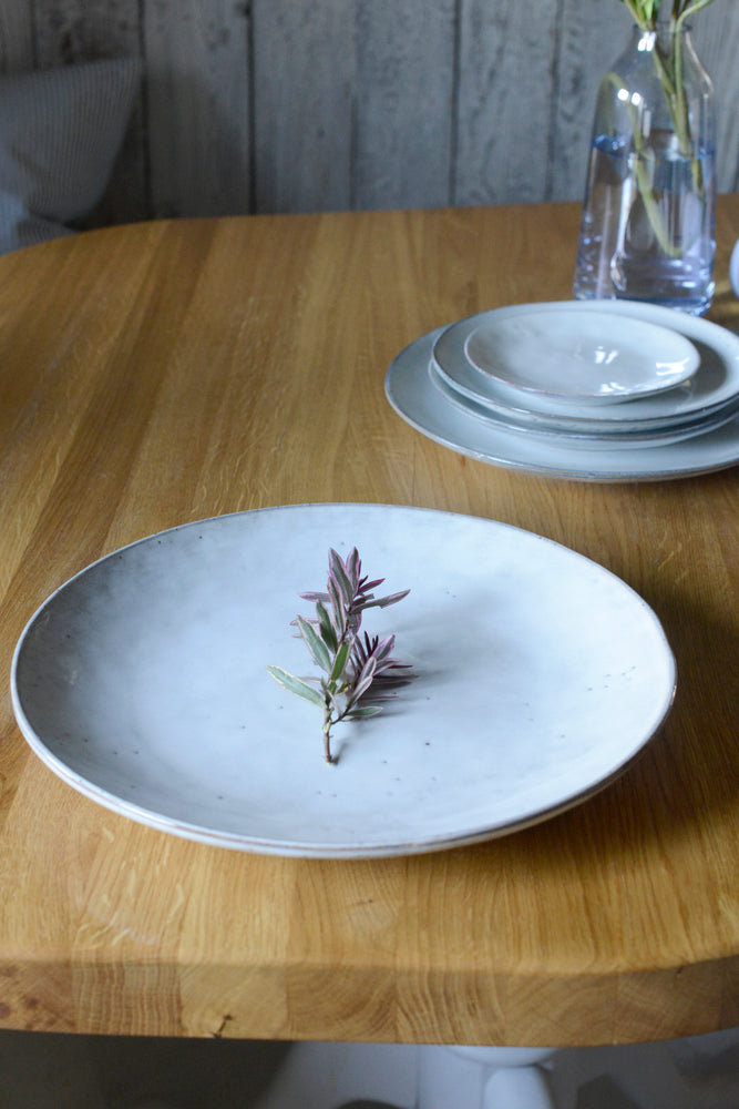 Broste Nordic sand extra large plate