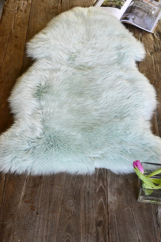New Zealand sheepskin - Mint