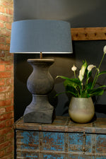 Verona Wooden Table Lamp - Black