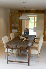 Metal Dining Table - 210cm