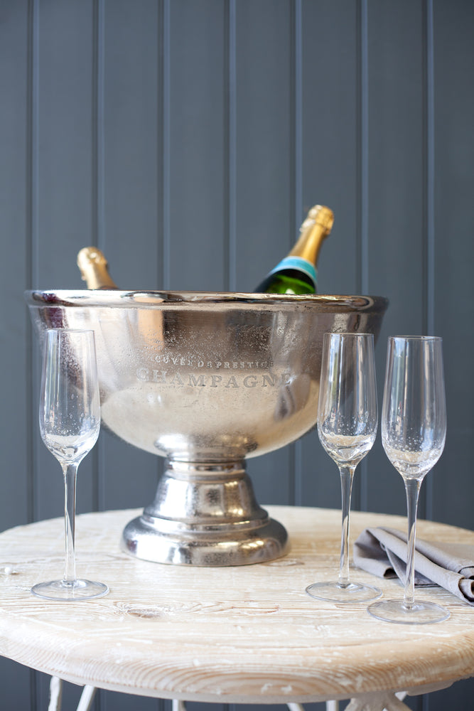 Damery Champagne Bucket - Nickel