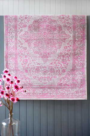 Load image into Gallery viewer, Emperor Silver & Pink Rug