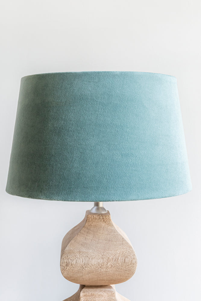 Empire Shade 25/30cm - Lagoon Green Velvet