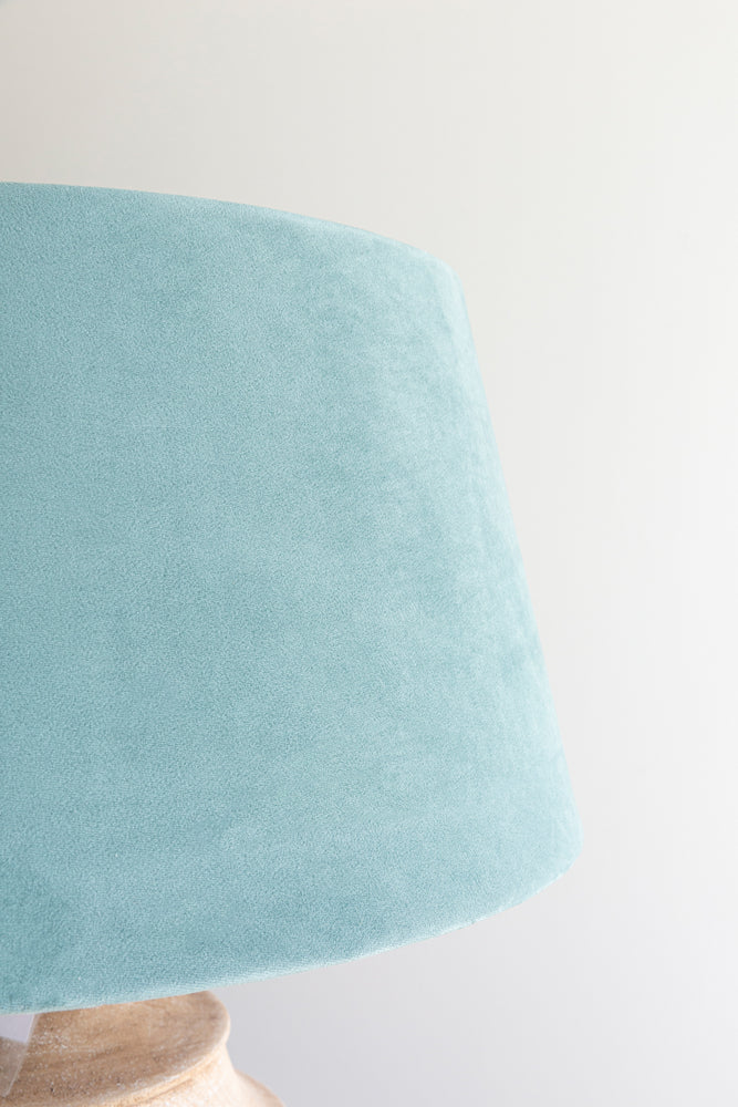 Empire Shade 40/50cm - Lagoon Green Velvet
