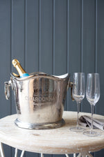 Epernay Champagne Bucket - Nickel