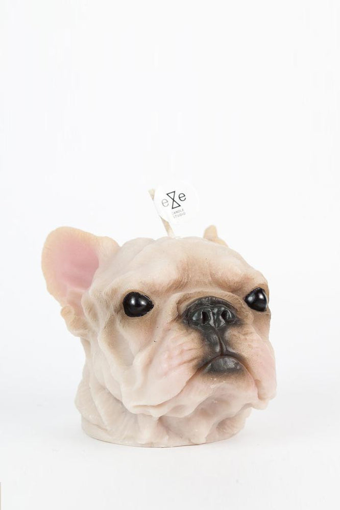 French Bulldog Scented Candle