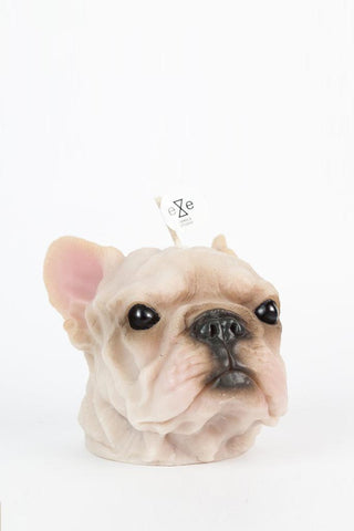 French Bulldog Candle (Painted)