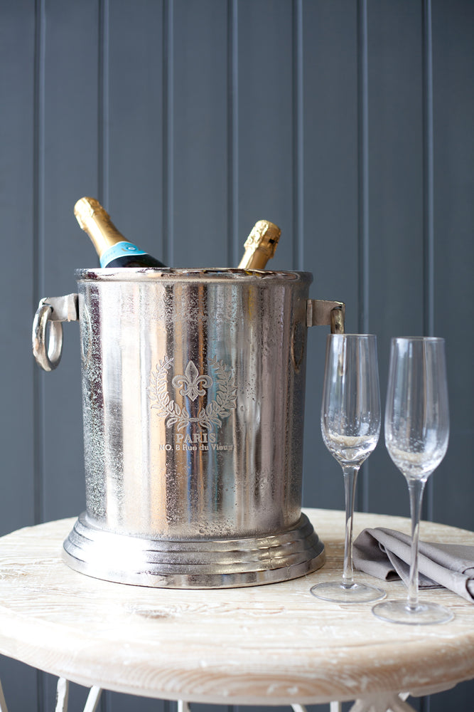 Fizz Champagne Bucket - Nickel