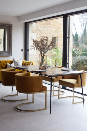 Heythrop Hexagon Top Dining Table - 200cm