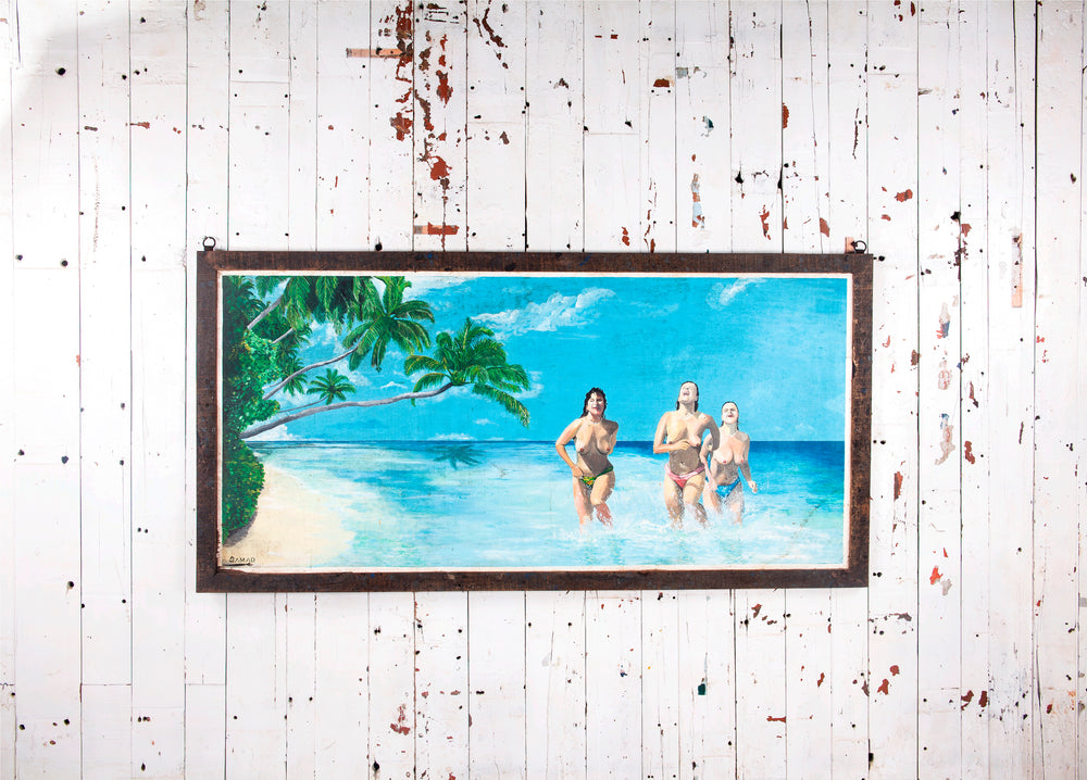 Swimmers Photo Frame