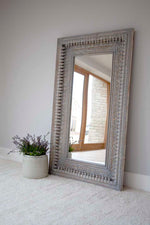 Jali Rectangular Carved Mirror - 98cm x 150cm